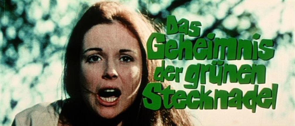 Geheimnis der grünen Stecknadel, Das