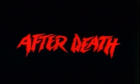 Zombie IV - After Death