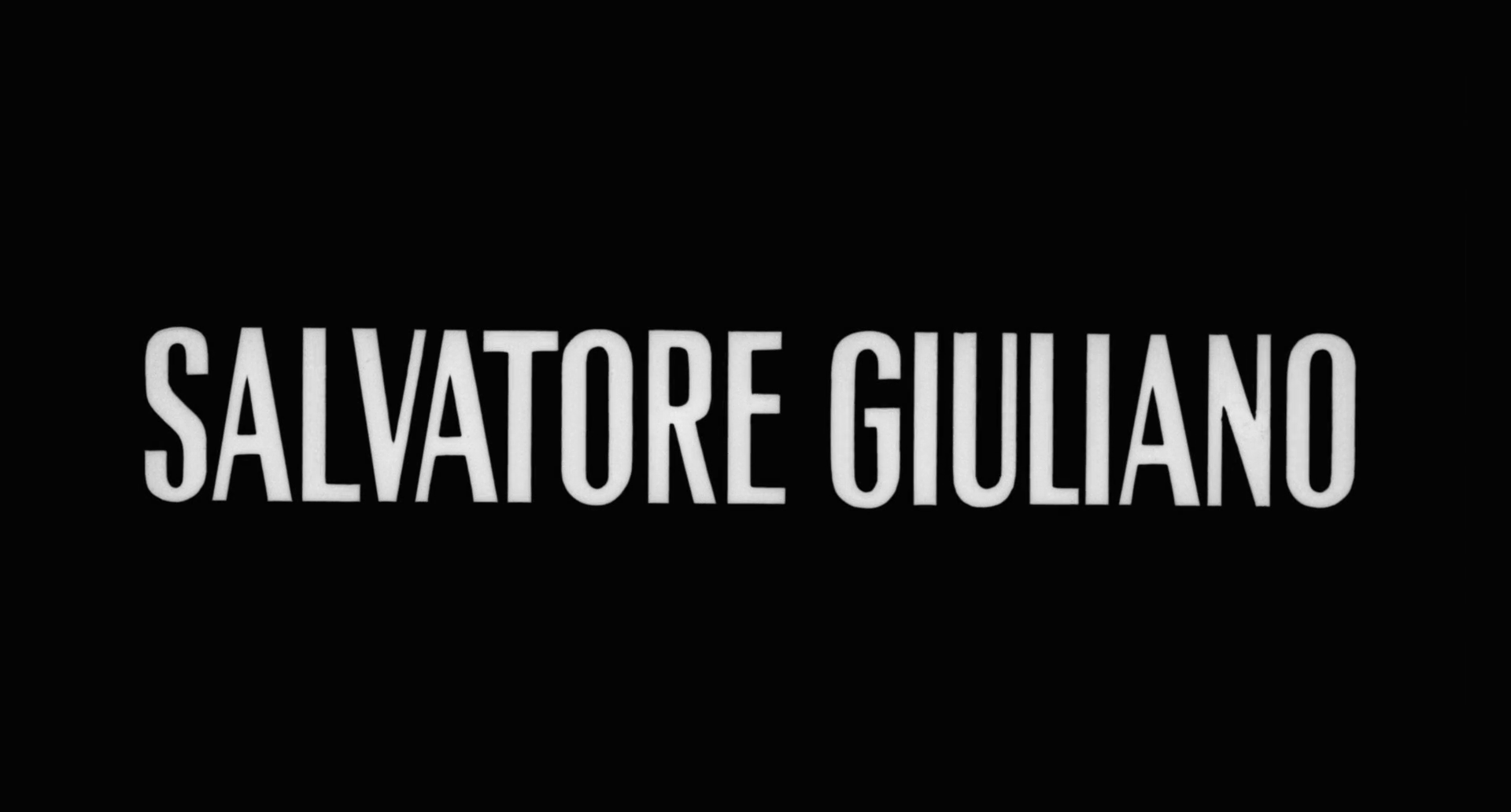 Wer erschoss Salvatore G.?