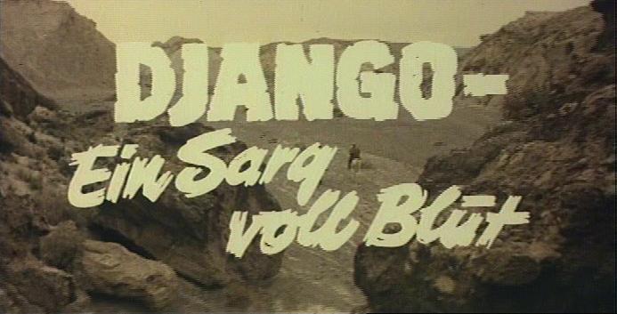 Django - Ein Sarg voll Blut