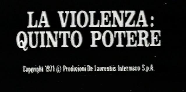 Gewalt - Die fünfte Macht im Staat