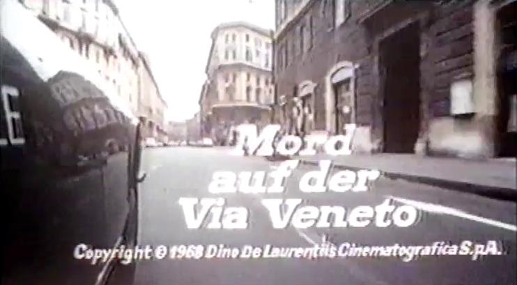 Mord auf der Via Veneto