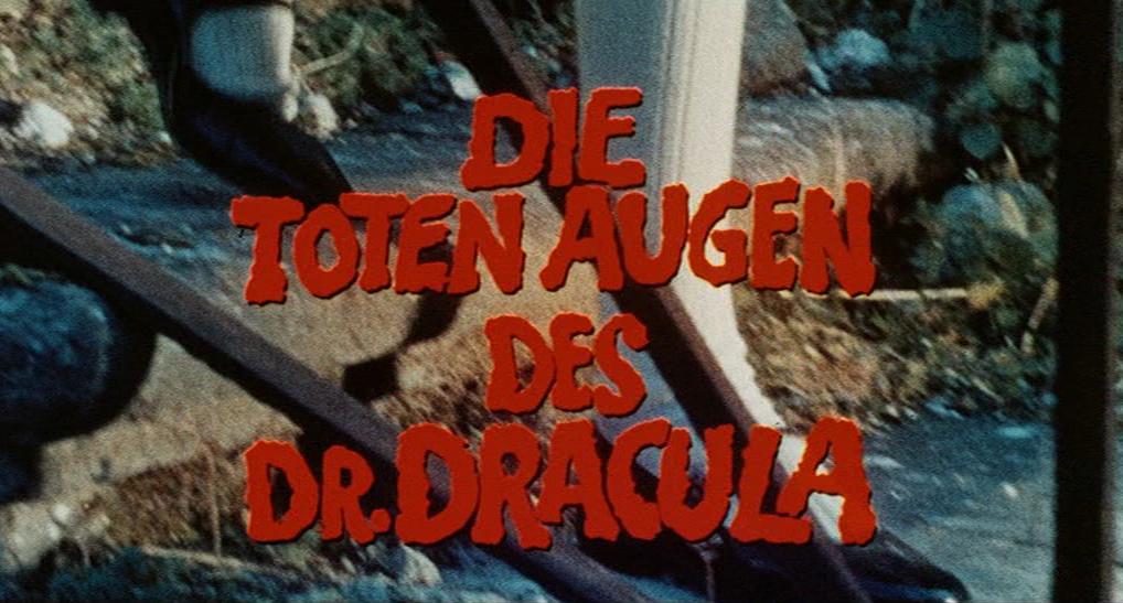 toten Augen des Dr. Dracula, Die