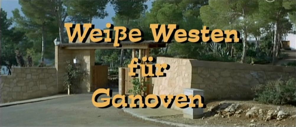 Weiße Westen für Ganoven