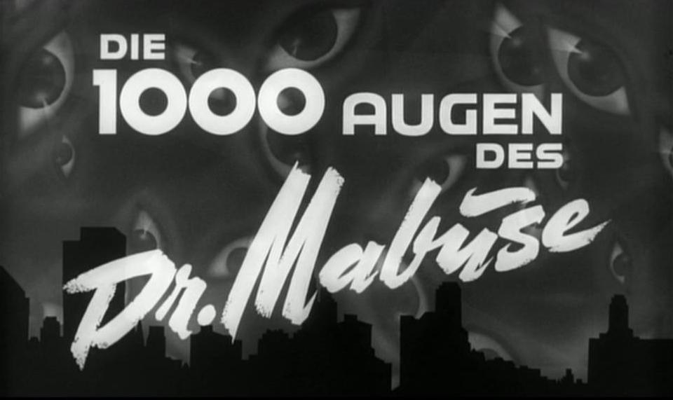 1000 Augen des Dr. Mabuse, Die