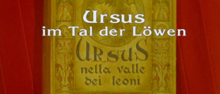 Ursus im Tal der Löwen