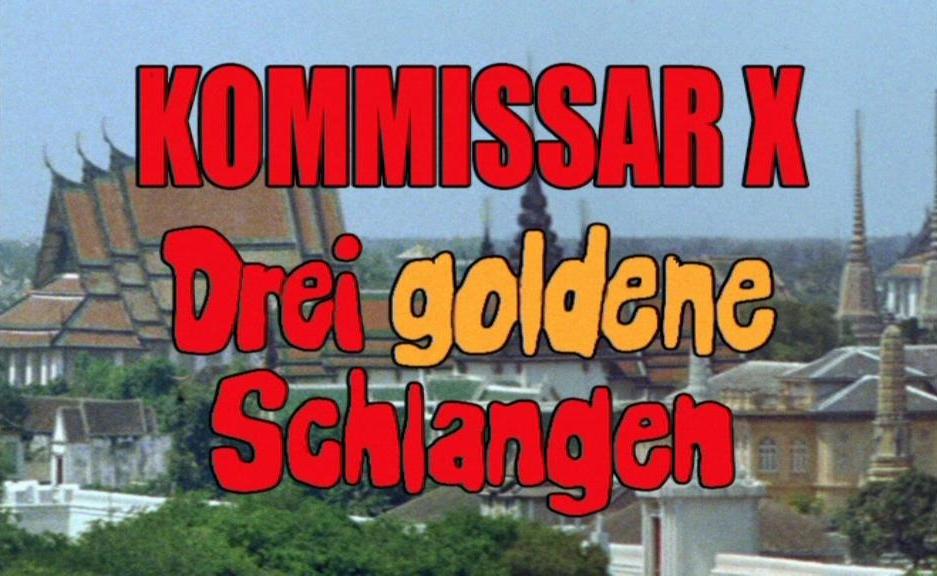 Kommissar X - Drei goldene Schlangen