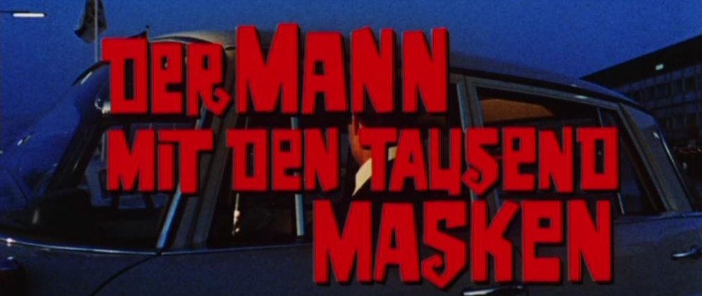 Mann mit den tausend Masken, Der