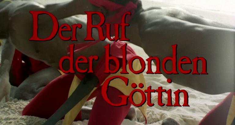 Ruf der blonden Göttin, Der