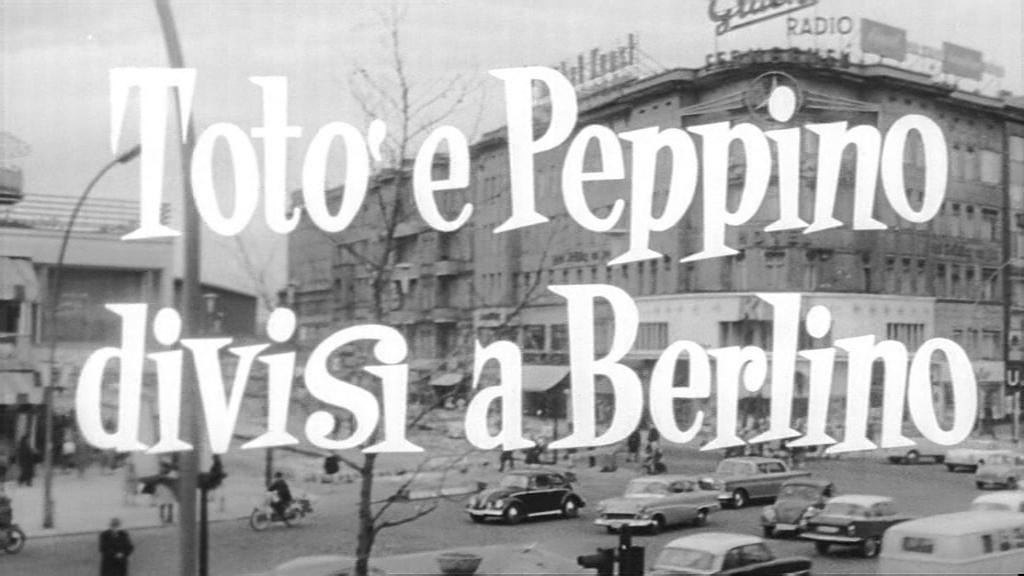 Toto and Peppino Divided in Berlin