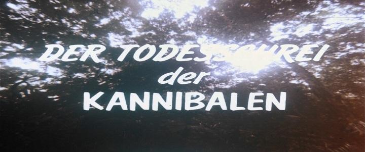 Todesschrei der Kannibalen, Der
