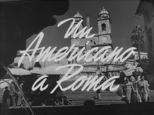 Amerikaner in Rom, Ein