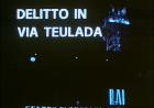 Delitto in Via Teulada