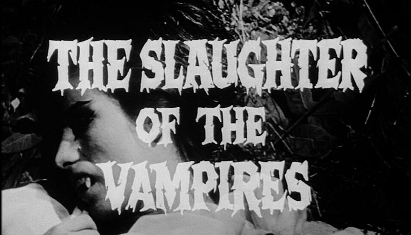 Rache des Vampirs, Die