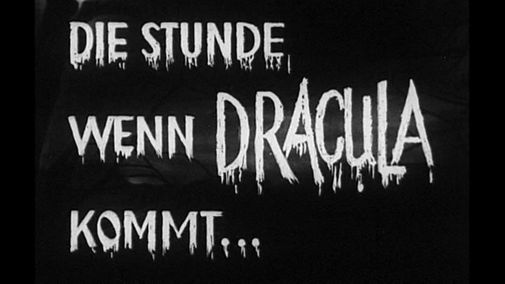 Stunde, wenn Dracula kommt, Die