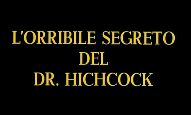Terror of Dr. Hichcock, The