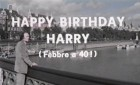 Happy Birthday, Harry