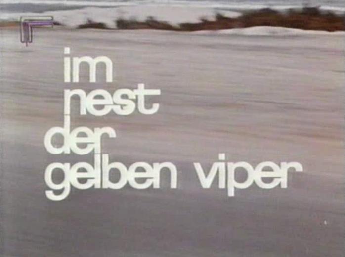 Im Nest der gelben Viper