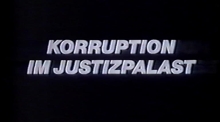 Korruption im Justizpalast